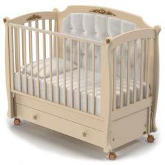 Кроватка с маятником Nuovita Furore Swing (avorio)