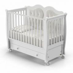 Кроватка с маятником Nuovita Affetto Swing (bianco)
