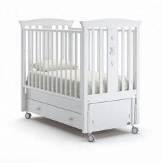 Кроватка с маятником Nuovita Fasto Swing (bianco)