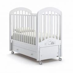 Кроватка с маятником Nuovita Grano Swing (bianco)