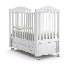 Кроватка с маятником Nuovita Lusso Swing (bianco)