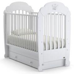 Кроватка с маятником Nuovita Parte Swing (bianco)
