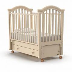 Кроватка с маятником Nuovita Perla Swing (avorio)