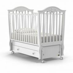Кроватка с маятником Nuovita Sorriso Swing (bianco)