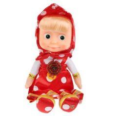 Мягкая игрушка кукла МУЛЬТИ-ПУЛЬТИ Маша пластик плюш красный 29 см