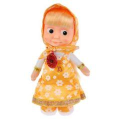 Мягкая игрушка кукла МУЛЬТИ-ПУЛЬТИ Маша плюш пластик желтый 29 см