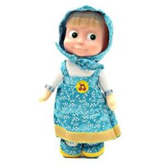Мягкая игрушка кукла МУЛЬТИ-ПУЛЬТИ Маша пластик плюш 29 см