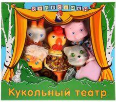 """Кукольный театр Пфк игрушки """"Кошкин дом"""" 5 предметов СИ-690"""