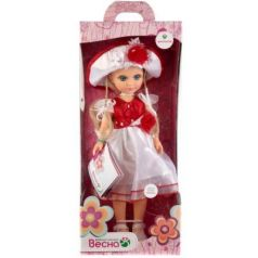Кукла ВЕСНА АНАСТАСИЯ РОЗОЧКА 42 см со звуком В1835/о
