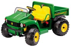 Каталка-машинка Peg Perego JD Gator HPX зелено-желтый от 3 лет пластик