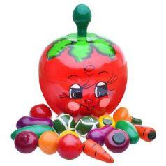 Развивающий набор Русские народные игрушки В помидоре