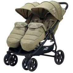 Коляска прогулочная для двоих детей Rant Biplane (beige)