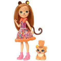 Кукла с любимой зверюшкой - Чериш Гепарди