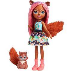 Игрушка Enchantimals Кукла с питомцем - Санча Белка (FNH22)