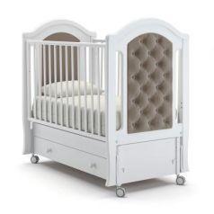 Кроватка с маятником Nuovita Grazia Swing (bianco)