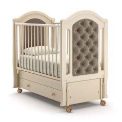 Кроватка с маятником Nuovita Grazia Swing (avorio)