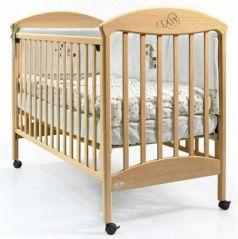 Кроватка Fiorellino Pu (natur)