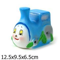 Резиновая игрушка для ванны Пфк игрушки Паровозик 8 см