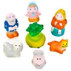 Набор игрушек для ванны Пфк игрушки Репка 8.5 см