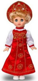 Кукла ВЕСНА В2639 Эля Русская красавица