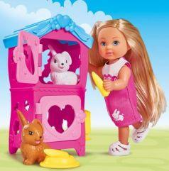 Кукла EVI 5733065 с кроликами