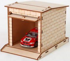 Конструктор Мебель для кукол Дедушкин гараж 24 элемента