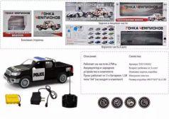 Машинка на радиоуправлении Наша Игрушка Полицейский пикап пластик, металл от 6 лет черно-белый