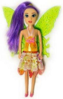 Кукла Fairy с крыльями и цветными волосами, в ассорт.