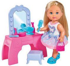 Кукла SIMBA Еви с туалетным столиком 12 см