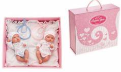 Кукла-младенец Munecas Antonio Juan Куклы-двойняшки Пепито и Лолита 21 см