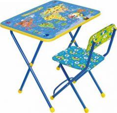 Комплект стол+стул Ника Познайка 2 Познаю мир