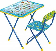 Комплект стол+стул Ника Познайка 2 Азбука