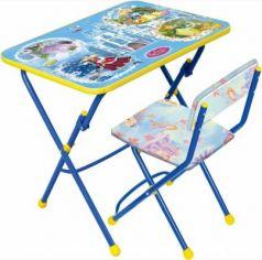 Комплект стол+стул Ника Умничка 1 Волшебный мир принцесс