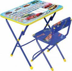 Комплект стол+стул Ника Умничка 1 Большие гонки