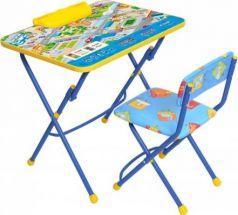 Комплект стол+стул Ника Умничка 2 Правила дорожного движения