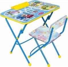 Комплект стол+стул Ника Умничка 2 Волшебный мир принцесс