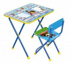 Комплект стол+стул Ника Познайка 2 Азбука 2 Маша и Медведь