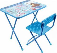 Комплект стол+стул Ника Познайка 2 Азбука 4 Маша и Медведь