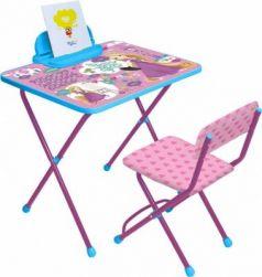 Комплект стол+стулНика Disney 1 Рапунцель