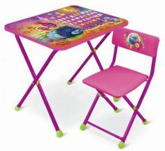 Комплект стол+стул Ника Trolls Тролли