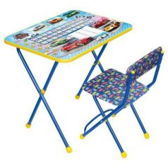 Комплект стол+стул Ника Познайка Познайка