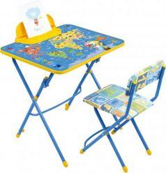 Комплект стол+стул Ника Умничка 3 Познаю мир