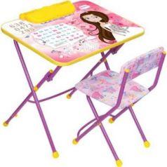 Комплект стол+стул Ника Умничка 3 Маленькая принцесса