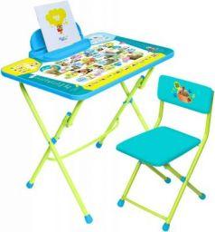 Комплект стол+стул Ника Умничка 2 Пушистая азбука
