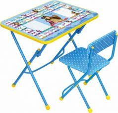 Комплект стол+стул Ника Умничка 1 Азбука 2 Маша и Медведь