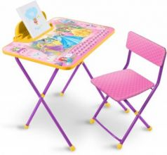 Комплект стол+стул Ника Disney 3 Принцесса