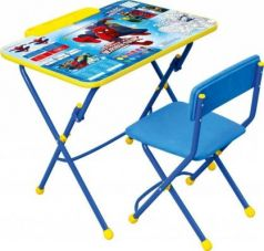 Комплект стол+стул Ника Disney 3 Человек-паук