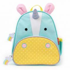 Рюкзак ручка для переноски Skip Hop Единорог 8 л голубой желтый SH 210227