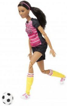 Barbie футболистка
