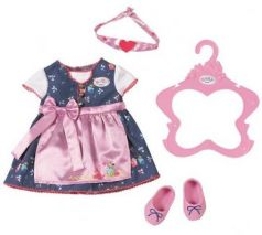 Одежда для кукол Zapf Creation Платье с передником
